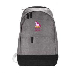 Городской рюкзак Единорог с пончиком