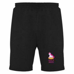 Мужские шорты Единорог с пончиком
