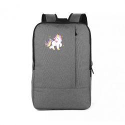 Рюкзак для ноутбука Единорог в звёздах