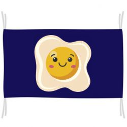 Прапор Egg with smile