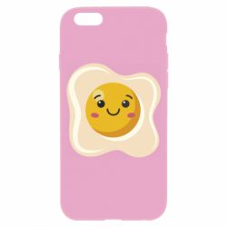 Чохол для iPhone 6/6S Egg with smile