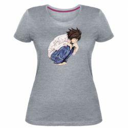 Жіноча стрейчева футболка El Death Note