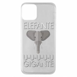 Чехол для iPhone 11 Elefante uuu Gigante