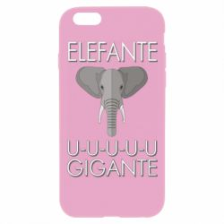 Чехол для iPhone 6 Plus/6S Plus Elefante uuu Gigante