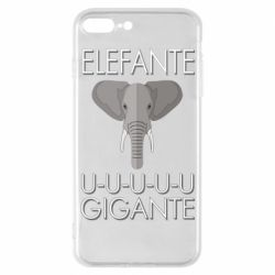 Чехол для iPhone 7 Plus Elefante uuu Gigante