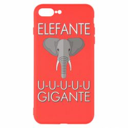 Чехол для iPhone 8 Plus Elefante uuu Gigante