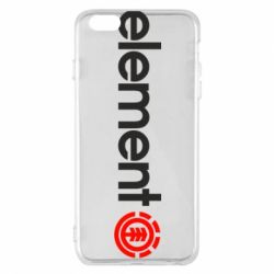 Чехол для iPhone 6 Plus/6S Plus Element Logo