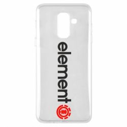 Чехол для Samsung A6+ 2018 Element Logo