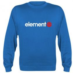 Реглан (свитшот) Element Logo - FatLine