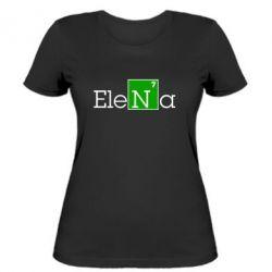 Женская футболка Elena - FatLine