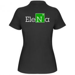 Женская футболка поло Elena - FatLine