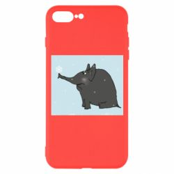Чохол для iPhone 7 Plus Elephant and snowflakes