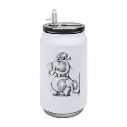 Термобанка 350ml Elephant family