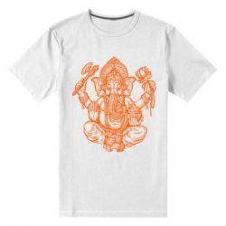 Купить Мужская стрейчевая футболка Elephant of India, FatLine