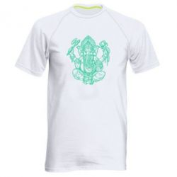 Мужская спортивная футболка Elephant of India