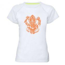 Купить Женская спортивная футболка Elephant of India, FatLine