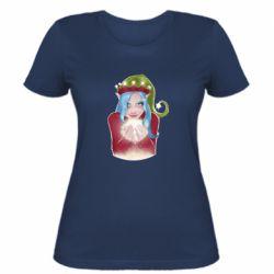 Женская футболка Elf girl