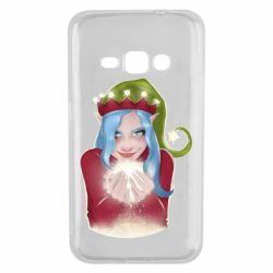 Чехол для Samsung J1 2016 Elf girl