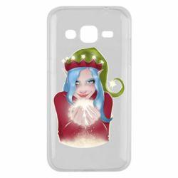 Чехол для Samsung J2 2015 Elf girl