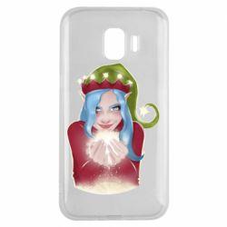 Чехол для Samsung J2 2018 Elf girl