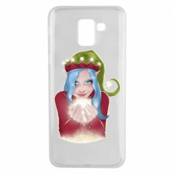 Чехол для Samsung J6 Elf girl