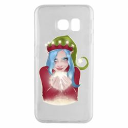 Чехол для Samsung S6 EDGE Elf girl