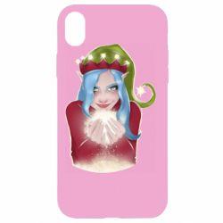 Чехол для iPhone XR Elf girl