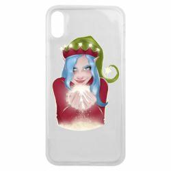 Чехол для iPhone Xs Max Elf girl