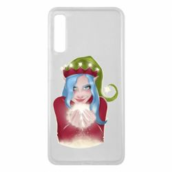 Чехол для Samsung A7 2018 Elf girl