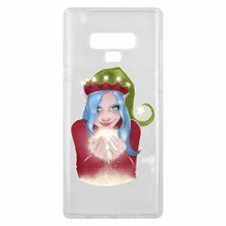 Чехол для Samsung Note 9 Elf girl