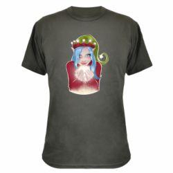 Камуфляжная футболка Elf girl