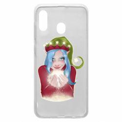 Чехол для Samsung A20 Elf girl