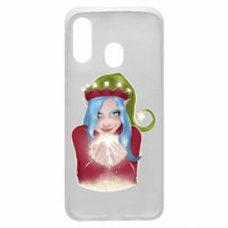Чехол для Samsung A40 Elf girl