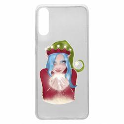 Чехол для Samsung A70 Elf girl