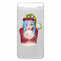 Чехол для Samsung A80 Elf girl
