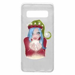 Чехол для Samsung S10 Elf girl