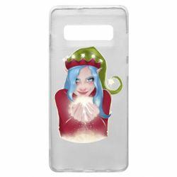 Чехол для Samsung S10+ Elf girl