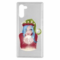 Чехол для Samsung Note 10 Elf girl