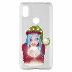 Чехол для Xiaomi Redmi S2 Elf girl