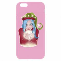 Чехол для iPhone 6 Plus/6S Plus Elf girl