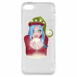 Чехол для iPhone5/5S/SE Elf girl
