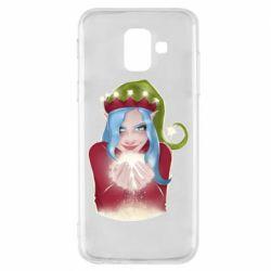 Чехол для Samsung A6 2018 Elf girl