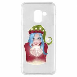 Чехол для Samsung A8 2018 Elf girl