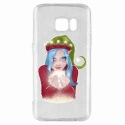 Чехол для Samsung S7 Elf girl