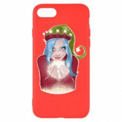 Чехол для iPhone 8 Elf girl