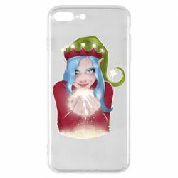 Чехол для iPhone 8 Plus Elf girl