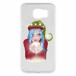 Чехол для Samsung S6 Elf girl
