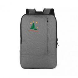 Рюкзак для ноутбука Ялинка з іскрами