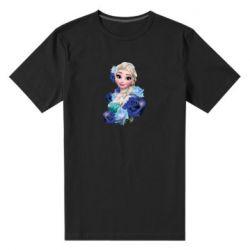 Чоловіча стрейчева футболка Elsa and roses