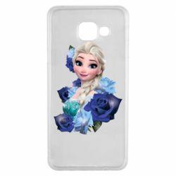 Чохол для Samsung A3 2016 Elsa and roses